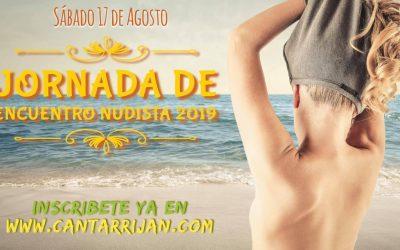 Encuentro nudista en playa de Cantarriján